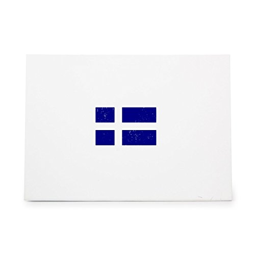 Swedish Flag Country Cross Sweden Style 3992, Rubber Stamp Shape great for Scrapbooking, Crafts, Card Making, Ink Stamping Crafts