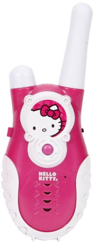 Hello Kitty Push to Talk Walkie Talkies, Pink -