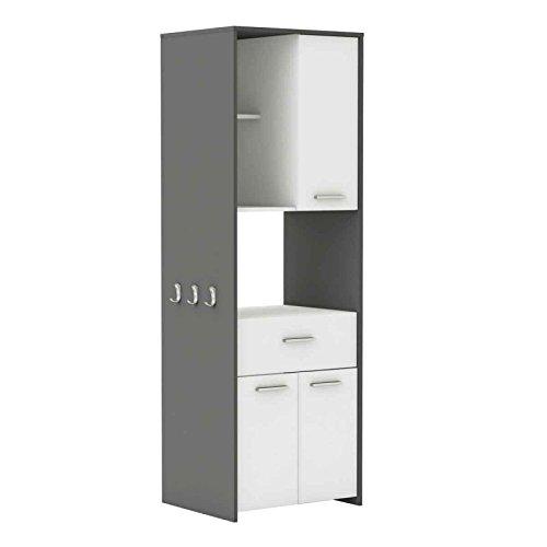 Paris Prix - Mueble de almacenaje para microondas