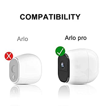 Silicone Skins Cover Protective Skin for Arlo Pro, Arlo Pro 2 Smart Security Wire-Free Cameras