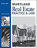 Maryland Real Estate- Practice & Law (12th, 08) by White, Don [Paperback (2008)]