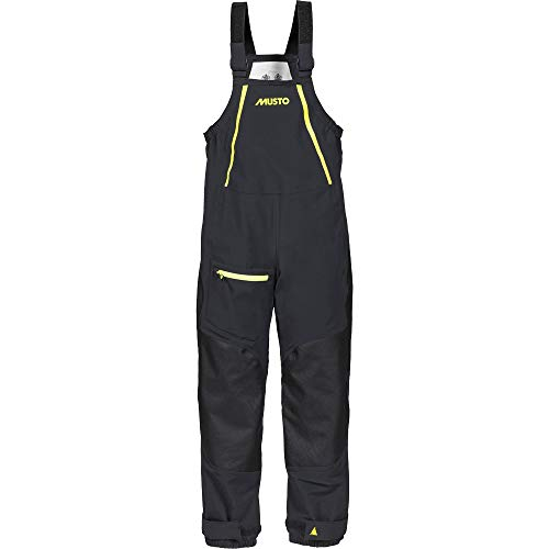 Musto Championship Dinghy Hi-Fits, Windproof and Breathable Trousers Black LG