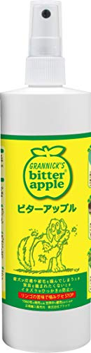 Grannick's Bitter Apple for Dogs Spray Bottle, 16 Ounces (Best No Chew Spray)