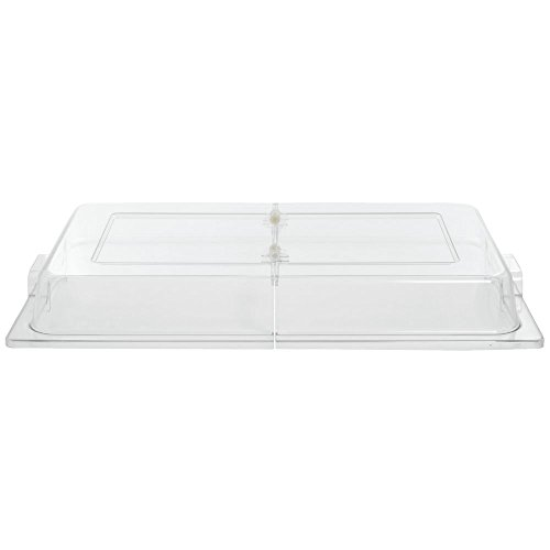 Chafer Cover Clear Polycarbonate Flip-Top - 21 1/2 L x 12 1/2 W x 2 1/2 H