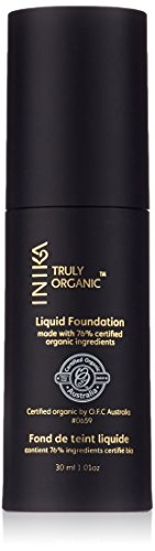 INIKA Organic Liquid Foundation - Beige (Liquid Foundation Line Smoothing Makeup)