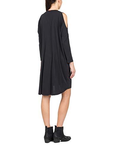 Women's Replay Off Black Shoulder Dress vgqgBwU