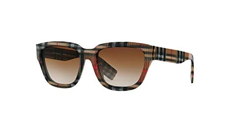 Burberry Women's 0BE4277 Vintage Check/Gradient Brown One Size (Burberry Damen)