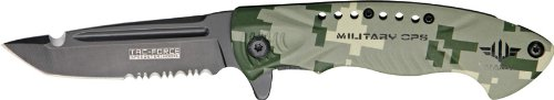 Tac Force TF-685DNV Assisted Opening Folding Knife 4.5-Inch Closed, Outdoor Stuffs