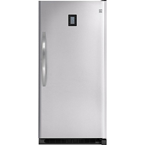 Kenmore Elite 27003 20.5 cu. ft. Upright Freezer - Stainless Steel by Kenmore Elite (Image #1)