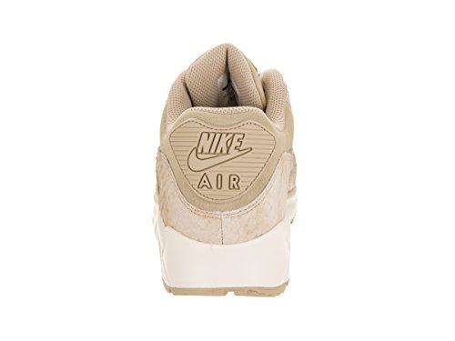NIKE WMNS Air Max 90 Premium Lifestyle Sneakers Womens Linen/Linen-Sail New 896497-200 quality original sale looking for 2014 new sale online 2ouwuK42