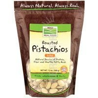 Now Foods Pistachios Roasted and Salted - 12 oz ( Pack of 2)