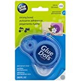 Bulk Buy: Glue Dots Glue Dots 3/8in. Permanent Dot in.n Go Disposable Dispenser 200 Clear Dots (3-Pack)