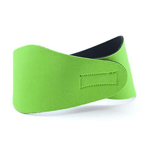 Green Panamami Swimming Ear Head Band Waterproof Neoprene Wetsuit Head Bands Solid Color Water Sport Swimming Headband for Children