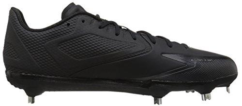 Scarpa Da Baseball Adidas Original Man Freak X Carbon Mid Nero / Argento Metallizzato / Argento Metallizzato