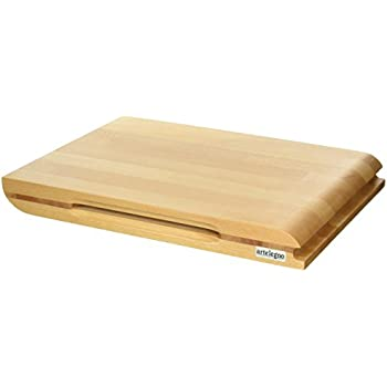 Etonnant Artelegno Dual Sided Solid Beech Wood Cutting Board With Integrated  Magnetic Knife Storage, Luxurious Italian