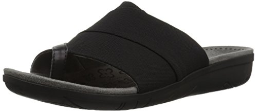 Women's amp; M Black 5 5 Flops Sandals Flip BT24772 Jodey Size BareTraps Z7xwpqC6x