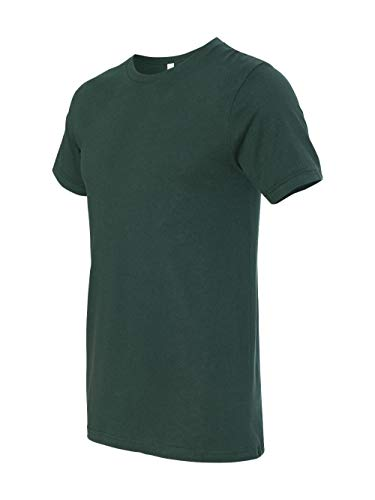 Canvas Forest Green - Bodek And Rhodes 60131492 3001 Bella Canvas Unisex Jersey Short-Sleeve Tee Forest - Extra Small