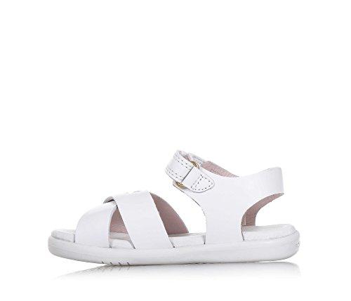 Bobux Unisex-Kinder IW Roman Sandal Weiß (White)
