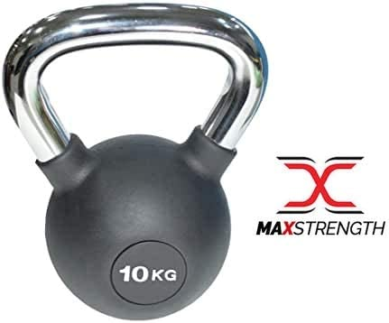 6kg USA Pro Cast Iron Rubber Coated Kettle Bell Gym Fitness Strength RRP £40