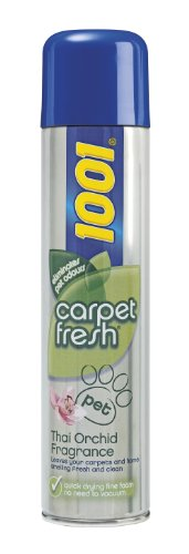 1001 Carpet Fresh 300ml, Pet Thai Orchid by Cussons
