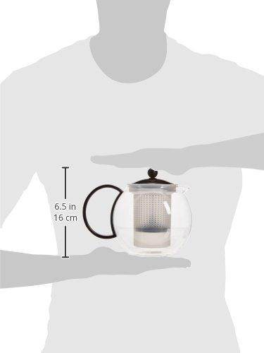 Bodum Assam Tea Press, 34-Ounce, Black by Bodum (Image #1)