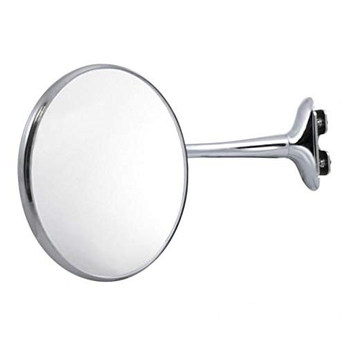 Peep rear view curved arm mirror extension antique classic pick up Ford Chevy Vintage Accessories