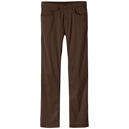 "prAna Men's Brion 32"""" Inseam Athletic Pants, Size 34, Coffee Bean"