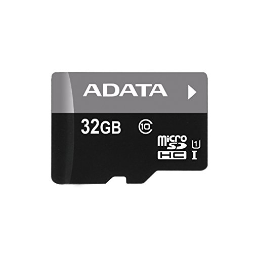 ADATA AUSDH32GUICL10-RA1 Premier 32 GB micro SDHC/SDXC UHS-I U1 Memory Card with One Adapter