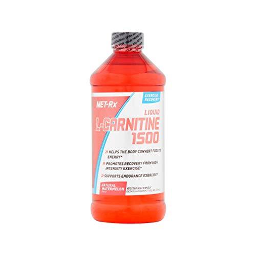 MET-Rx Liquid L-Carnitine 1500, Natural Watermelon Flavor, 16 oz. from MET-Rx
