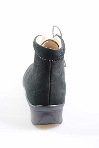 Finn Comfort - Zapatos de Cordones de cuero Mujer azul marino