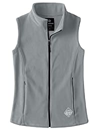Wantdo Women's Fleece Outdoor Vest Casual Full Zip Outfit Gilet