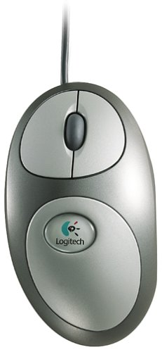 Logitech MouseMan Dual Optical Wired Mouse ()