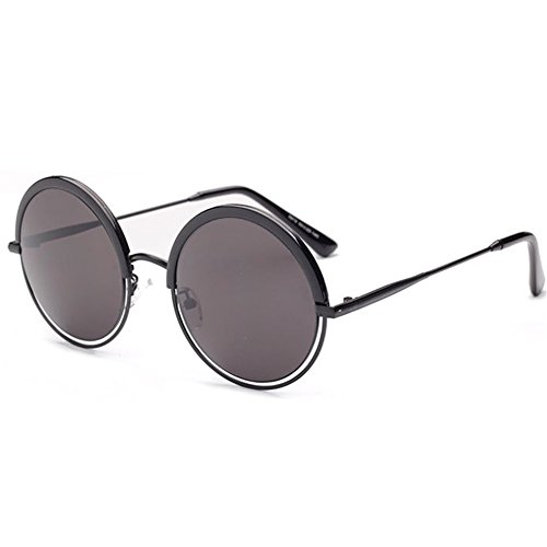 [MosierBizne Retro Semimetallic Hollow Sunglasses Men And Women Universal(2)] (Neo Costumes Sunglasses)