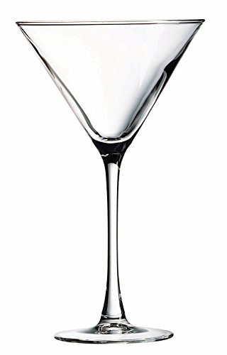 Luminarc Arc International Connoisseur Bulk Martini Glass, 10 oz, Clear (Pack Of 12) by Luminarc