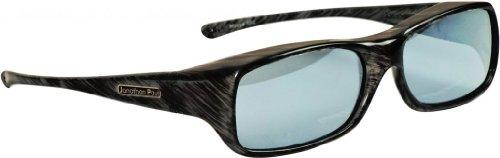 Jonathan Paul® Fitovers Mooya Large Polarized Over Sunglasses ; Black-Wind & Polarvue - Fitover Sunglasses Cocoon