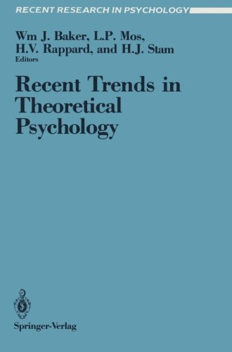 Recent Trends in Theoretical Psychology: Proceedings of the Second Biannual Conference of the International Society for