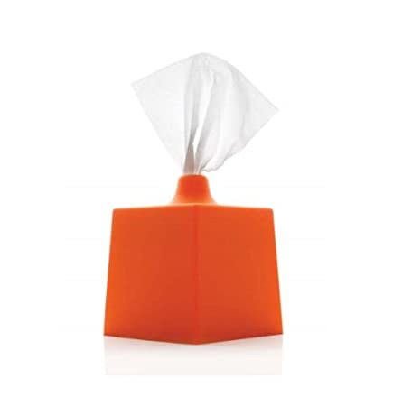 Konte TBC5 WC Line-Tissue Box Cover - Dutch Orange