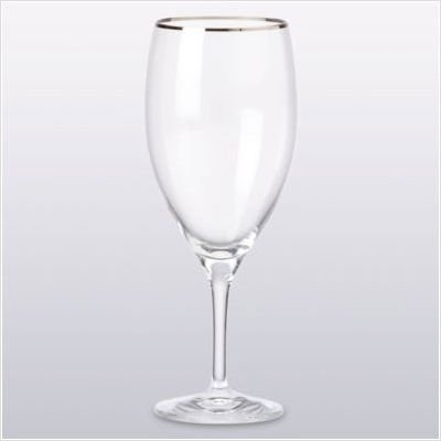 Timeless Platinum Iced Beverage Glass