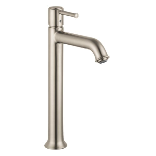 Brushed Bronze Low Lead - Hansgrohe 14116821 Talis C Tall Single-Hole Faucet, Brushed Nickel