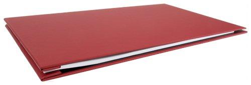 Ruby Paulina 11x17 Binder Screw Post Turned Edge (Red)