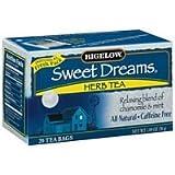 Bigelow Sweet Dreams Herb Tea 20 Bag (Pack of 6) For Sale
