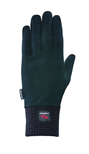 Seirus Innovation 8211 Fireshield Polartec Glove Liner - Flame Resistant, OSHA Approved, XXL, Black Polartec Liner