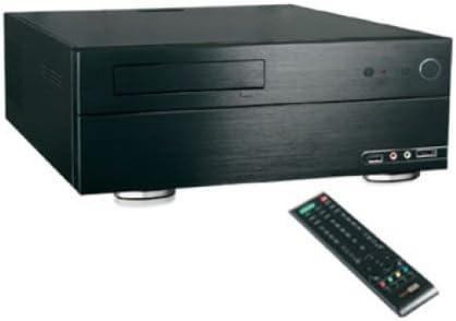 Techsolo TC-380 HTPC Negro Carcasa de Ordenador - Caja de Ordenador (HTPC, PC, Negro, 1 x 3.5, 1 x 5.25): Amazon.es: Informática