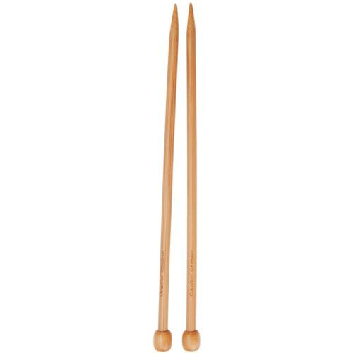 ChiaoGoo Single Point 9-inch (23cm) Wooden Knitting Needle; Size US 19 (15mm) 1031-19