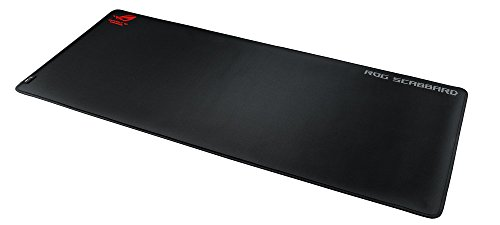 "ASUS ROG Scabbard Extra-Large Gaming Mouse Pad Anti-Fray, Slip-Free, Spill-Resistant Gaming Mouse Pad (35.4"" X 15.7"")"