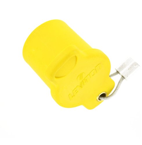 Leviton 16P22-Y 16 Series Female, Protective Cap, Commercial Grade, Cam-Type Connector, Yellow