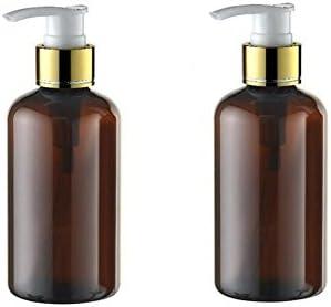 c596481c3769 Amazon.com : 2PCS 220ML Plastic Round Shoulder Pump Bottles-PET ...