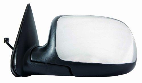 Depo 335-5401L3EC Chrome Driver Side Power Non-Heated (Side Power Chrome Mirror)