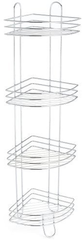 Taymor 4-Tier Corner Spa Tower, Chrome Finish by Taymor Industries