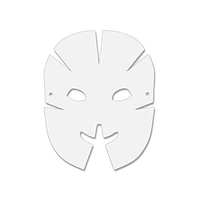Creativity Street Die Cut Dimensional Masks, 10.5-in. x 8.25-in., 40 Pack (AC4652): Toys & Games